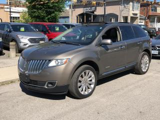 Used 2012 Lincoln MKX AWD 4DR for sale in Scarborough, ON