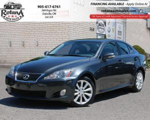 Used 2010 Lexus IS 250 4dr Sdn_ AWD_Navi_Rear Cam_Leather_Sunroof for sale in Oakville, ON
