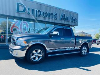 Used 2017 RAM 1500 Cabine quad 4RM, 140,5 po Big Horn for sale in Alma, QC