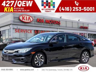 Used 2017 Honda Civic EX for sale in Etobicoke, ON