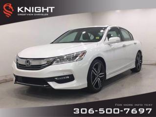 Used 2017 Honda Accord Sedan Touring | Leather | Sunroof | Navigation | for sale in Regina, SK