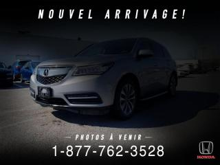 Used 2016 Acura MDX NAVI PACK + SH-AWD + 7 PASS + WOW! for sale in St-Basile-le-Grand, QC