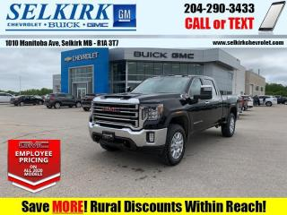 New 2020 GMC Sierra 2500 HD SLT  -  Cooled Seats - Sunroof for sale in Selkirk, MB