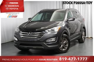 Used 2015 Hyundai Santa Fe Sport BOUTON POUSSOIR| BAS KILO| 1 PROPRIO for sale in Drummondville, QC