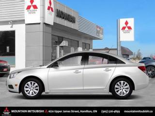 Used 2011 Chevrolet Cruze LT Turbo  - SiriusXM -  OnStar - $33.29 /Wk for sale in Hamilton, ON
