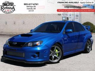Used 2013 Subaru WRX STI w/Tech Pkg_Navi_Sunroof_Low KMs for sale in Oakville, ON