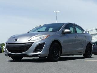 Used 2011 Mazda MAZDA3 MANUEL, AIR CLIM. JAMAIS ACCIDENTE!!! for sale in St-Georges, QC