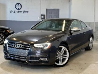 Used 2014 Audi S5 TECHNIK|NAV|BLIND SPOT|ONE OWNER|ACCIDENT FREE for sale in Oakville, ON