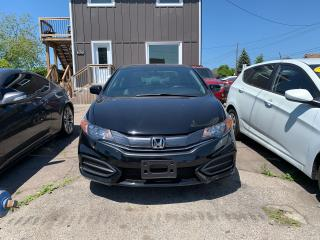 Used 2015 Honda Civic **LX**LOW KMS**COUPE** for sale in Hamilton, ON