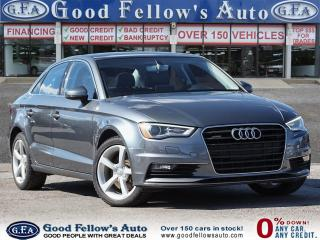 Used 2016 Audi A3 AWD, LEATHER & HEATED SEATS, POWER SEATS, SUNROOF for sale in Toronto, ON
