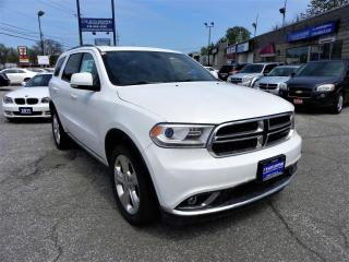 Used 2015 Dodge Durango LMTD AWD Dvd Reverse Camera for sale in Windsor, ON