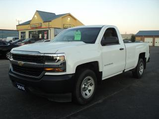 Used 2016 Chevrolet Silverado 1500 WT RegCab 4.3L 8ft Box for sale in Brantford, ON