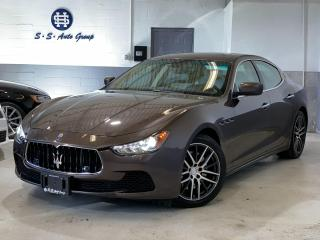 Used 2014 Maserati Ghibli S Q4 AWD|404HP|NAV|BACK UP|ACCIDENT FREE| for sale in Oakville, ON