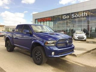 Used 2014 RAM 1500 SPORT, 4X4, CREW CAB, FULL LEATHER for sale in Edmonton, AB