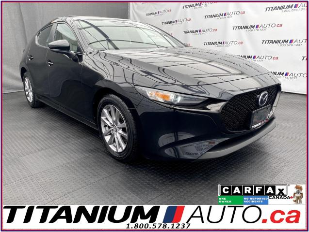 2019 Mazda MAZDA3 Sport+Leather+Sunroof+GPS+Blind Spot+Lane Assist+