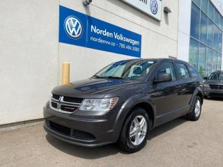 Used 2018 Dodge Journey Canada Value Package - Bluetooth for sale in Edmonton, AB