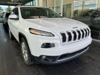 Used 2017 Jeep Cherokee LIMITED, 4WD, ACCIDENT FREE, SKYROOF, POWER HEATED/VENTED LEATHER SEATS, KEYLESS IGNITION for sale in Edmonton, AB