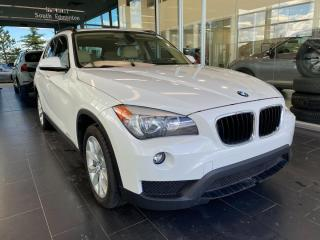 Used 2014 BMW X1 XDRIVE28I AWD, ACCIDENT FREE, SKYROOF, HEATED LEATHER SEATS, BLUETOOTH for sale in Edmonton, AB