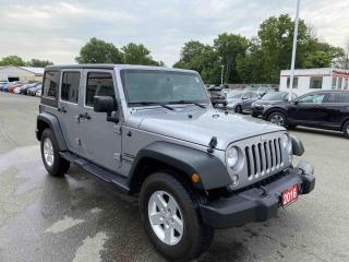 Used 2016 Jeep Wrangler Unlimited Sport 4dr 4WD Sport Utility for sale in Brantford, ON