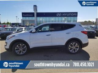Used 2013 Hyundai Santa Fe SE 2.0T AWD/PANO SUNROOF/LEATHER/HEATED STEERING for sale in Edmonton, AB