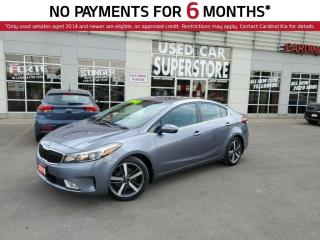 Used 2018 Kia Forte SX, NAV, Memory Seat, Sunroof, Leather. for sale in Niagara Falls, ON