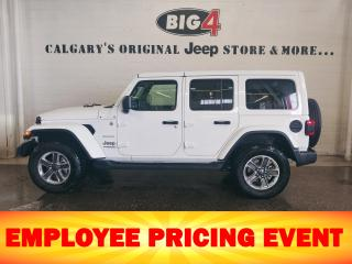 New 2020 Jeep Wrangler Unlimited Sahara 4WD for sale in Calgary, AB