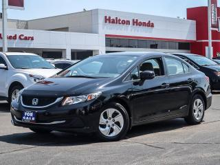 Used 2013 Honda Civic LX|SERVICE HISTORY ON FILE for sale in Burlington, ON