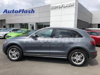 Used 2016 Audi Q5 2.0T Progressiv S-Line *GPS/Camera *Toit-Pano-Roof for sale in Saint-Hubert, QC