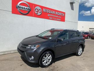 Used 2014 Toyota RAV4 Limited 4dr AWD Sport Utility for sale in Edmonton, AB