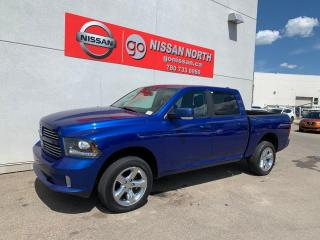 Used 2014 RAM 1500 LEATHER / CREW CAB Sport 4x4 Crew Cab 140.0 in. WB for sale in Edmonton, AB