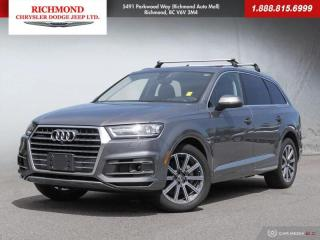 Used 2018 Audi Q7 3.0T for sale in Richmond, BC