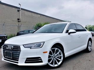Used 2017 Audi A4 |QUATTRO|NAVI|SUN ROOF|HEATED MEMORY SEATS|REAR VIEW CAMERA! for sale in Brampton, ON