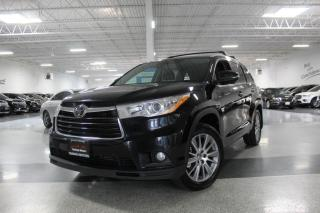 Used 2015 Toyota Highlander AWD XLE I NAVIGATION I REAR CAM I LEATHER I SUNROOF I BT for sale in Mississauga, ON