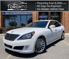 Used 2014 Hyundai Equus Signature Fully Loaded NAVI Back-Up Camera Leather Lane Departure Warning for sale in North York, ON