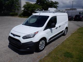 Used 2014 Ford Transit Connect XL Gas and Propane Cargo Van With Rear Shelving And Ladder Rack for sale in Burnaby, BC