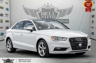 Used 2016 Audi A3 2.0T Komfort, AWD, NO ACCIDENT, SUNROOF, BLUETOOTH for sale in Toronto, ON