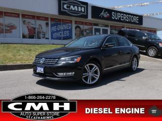 Used 2014 Volkswagen Passat 2.0 TDI Highline  DIESEL NAV ROOF LEATH for sale in St. Catharines, ON