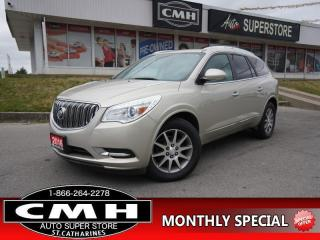 Used 2016 Buick Enclave Leather  AWD NAV ROOF LEATH CAM BS HS for sale in St. Catharines, ON