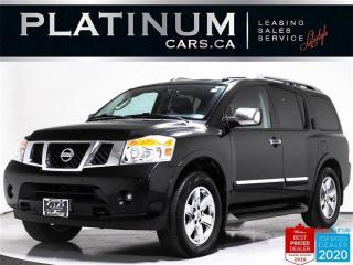 Used 2012 Nissan Armada Platinum 7, V8, 8 PASSENGER, NAV, CAM, HEATED SEAT for sale in Toronto, ON