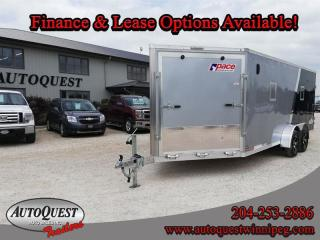 Used 2020 PACE 7' x 23' V-Nose Combo Trailer for sale in Winnipeg, MB