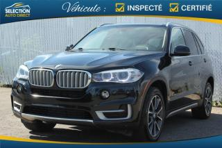 Used 2016 BMW X5 35i xDrive GPS TOIT PANORAMIQUE for sale in Ste-Rose, QC