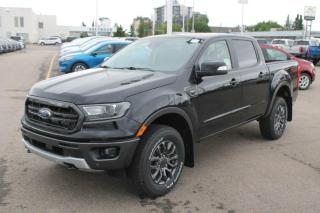 New 2020 Ford Ranger LARIAT 501A | 2.3L EcoBoost | Heated Leather Seats | Adaptive Cruise Control | FX4 PKG | Trailer Tow PKG | Sport Appearance PKG | Running Boards | Rear View Camera | for sale in Edmonton, AB