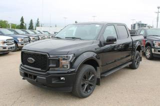 New 2020 Ford F-150 LARIAT 502A | 4X4 SuperCrew | 5.0L V8 | Black Appearance PKG | Twin Panel Moonroof | Heated Steering Wheel | FX4 PKG | for sale in Edmonton, AB