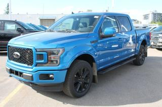 New 2020 Ford F-150 LARIAT 502A | 4X4 SuperCrew | 3.5L V6 EcoBoost | Black Appearance PKG | Twin Panel Moonroof | Heated Steering Wheel | for sale in Edmonton, AB
