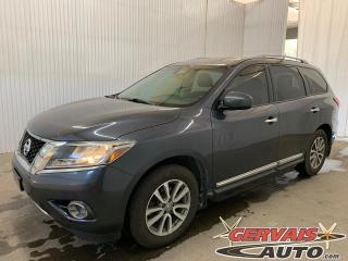 Used 2014 Nissan Pathfinder SL 4WD GPS Cuir 7 Passagers Mags Caméra for sale in Trois-Rivières, QC