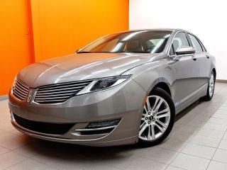 Used 2016 Lincoln MKZ AWD CUIR *TOIT* NAVIGATION *SIEGES VENTILÉS* PROMO for sale in St-Jérôme, QC