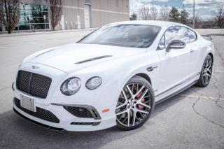 Used 2017 Bentley Continental GT Supersports for sale in Oakville, ON