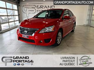 Used 2015 Nissan Sentra Berline 4 portes CVT SR **GPS**Bas kilo* for sale in Rivière-Du-Loup, QC