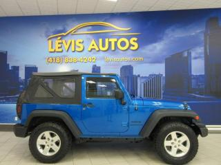 Used 2016 Jeep Wrangler SPORT 4X4 AUTOMATIQUE SEULEMENT 99000 KM for sale in Lévis, QC