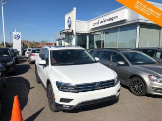 Used 2018 Volkswagen Tiguan RÉSERVÉ Highline 4MOTION + GPS + HID-LED for sale in Québec, QC